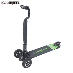 Koowheel Electric Scooter Three Wheels E-Wheel Scooters Scooterboard Skateboarding 4.3Ah Lithium Battery Foldable Vehicle T3