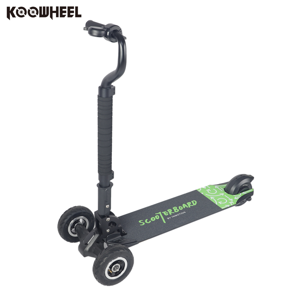 Koowheel Electric Scooter Three Wheels E-Wheel Scooters Scooterboard Skateboarding 4.3Ah Lithium Battery Foldable Vehicle T3 three wheels smart electric scooter hoverboard drift car mini drift vehicle 36v lithium battery electric car gift for kids new