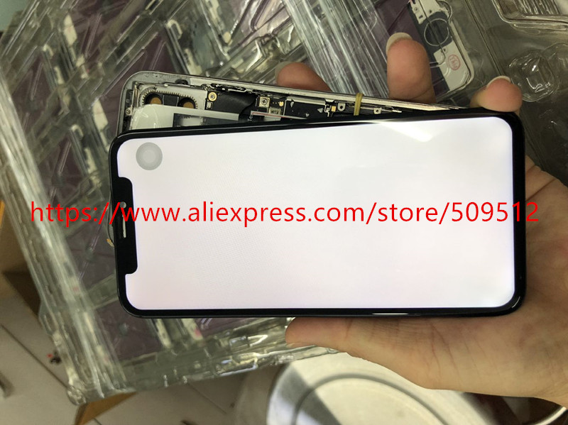 Test well Tian ma Oled Lcd with Touch Screen Digitizer for iphone X free Tracking