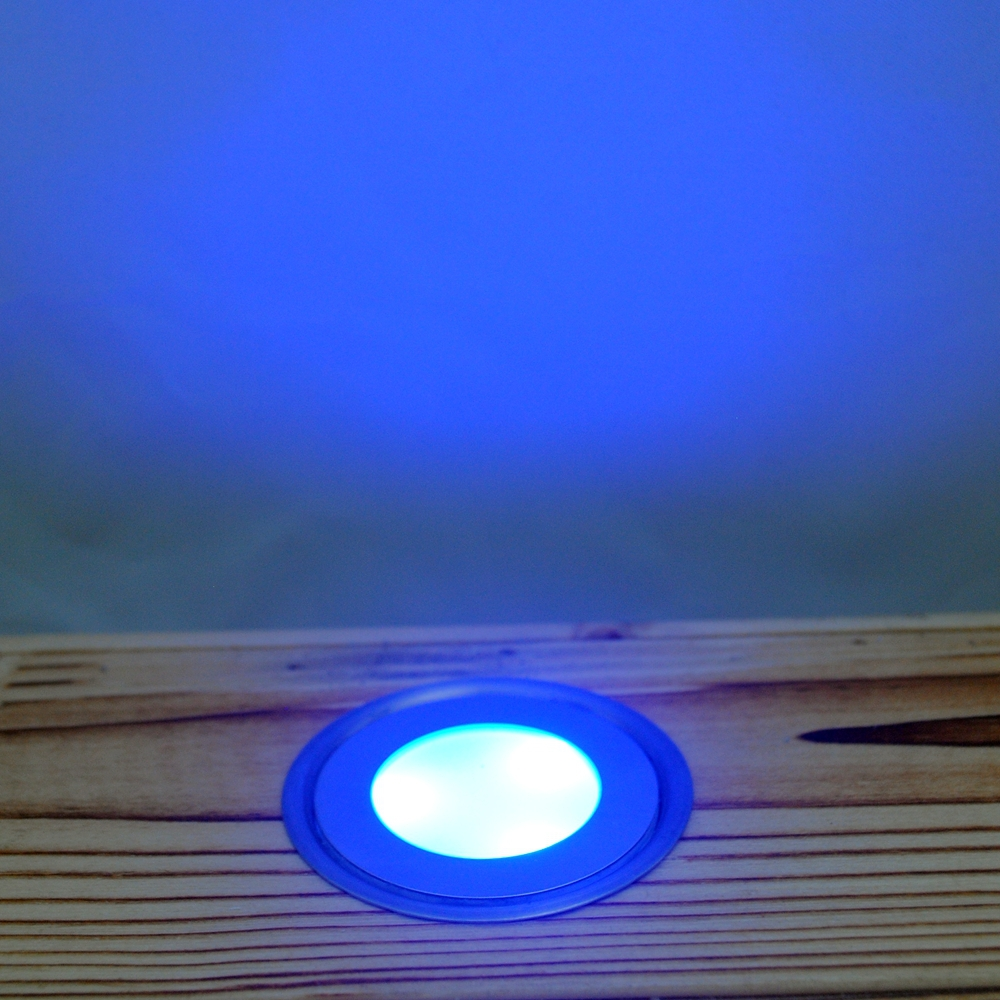 Exterior Encastrable Sol Concrete Floor Lamp LED Decking Light Set 0.5W Lights 20pcs+4pcs T Connection Cable+1pc 30W LED Driver