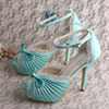 Hot Selling Lace High Heel Platform Sexy Wedding Shoes For Women White Size 34 42 Free