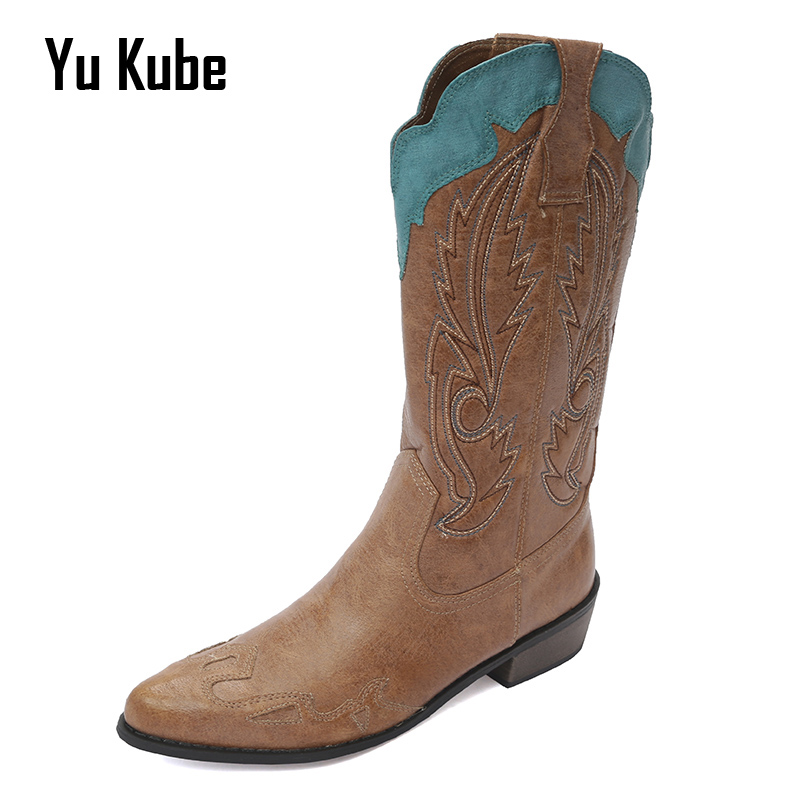 Online Get Cheap Cowboy Brown Boots -Aliexpress.com | Alibaba Group