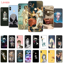 Lavaza Aesthetics Yellow oil painting Camila Cabello Lips Plaster Hard Case for Huawei Mate 10 20 P9 P10 P20 Lite Pro P smart 8X