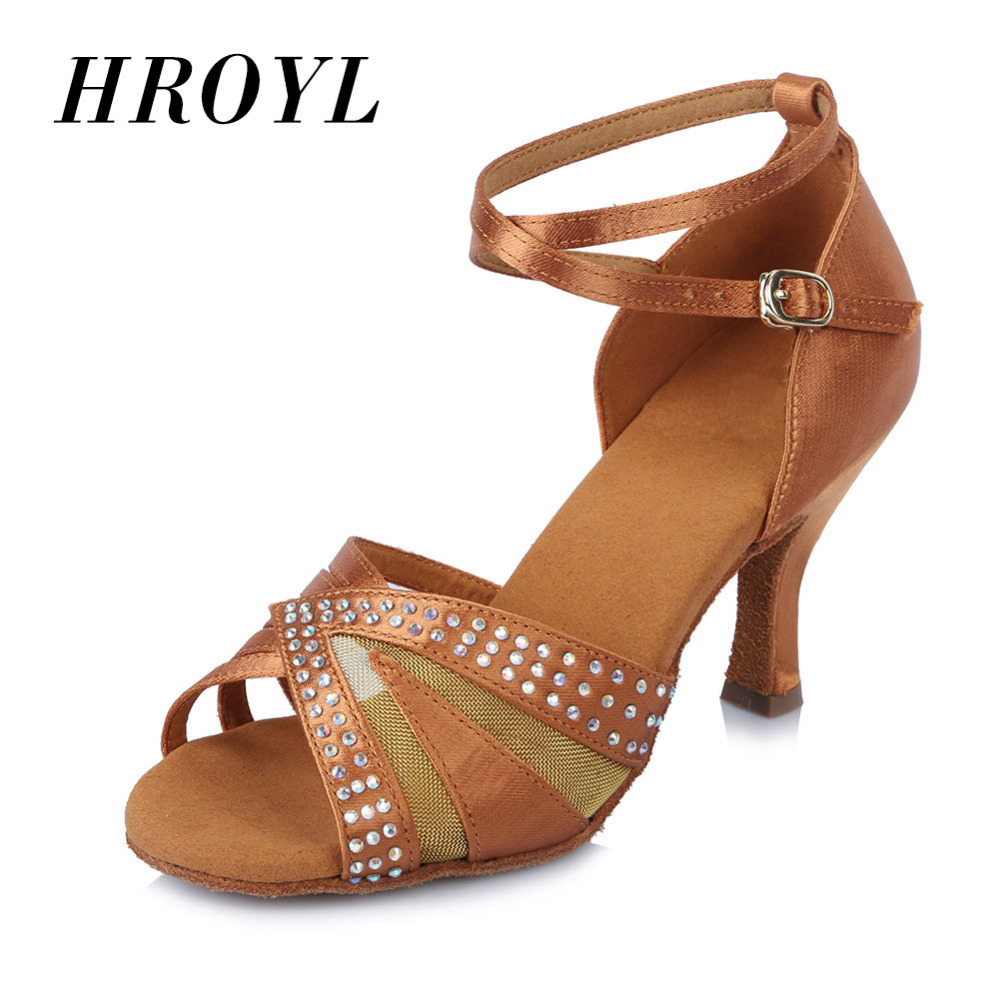 Hot Sale high quality Brand New Women's Girl 's Ladies Ballroom Latin Tango Party Dance Shoes 6.5cm heel  Free Shipping time relay h5cn xbn z