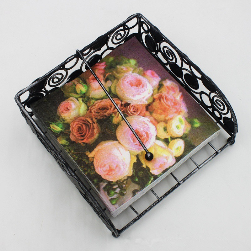 High-grade Vintage Camellia Flower Paper Napkins Cafe&Party Tissue Napkins Decoupage Decoration Paper 33cm*33cm 20pcs/pack/lot ...