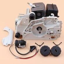 Kit de réparation du pédalier cylindre et Piston 38mm, bobine d'allumage, Kit de réparation du moteur supérieur du pédalier, compatible avec Stihl 018 MS180 017 MS170 tronçonneuse