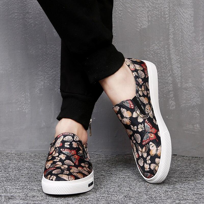3070a822 Hombres Ocasionales Ligero Calidad Zapatos Lona Primavera Negro De Heinrich  Verano 2018 Costura Marca Alta Tenis xwq1RH0Ut