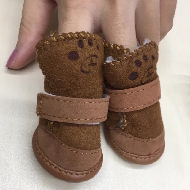 Custom Puppy and Big Dog Shoes For The Perfect Fit!  5