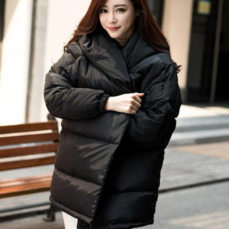 Manteau Noir Femme De Femmes 2018 Manteaux Japonais S Compagnon Holographique D'hiver Et Shorts Vestes Long Canard gris Duvet Vêtements 90 rose Festival 84ccHqI