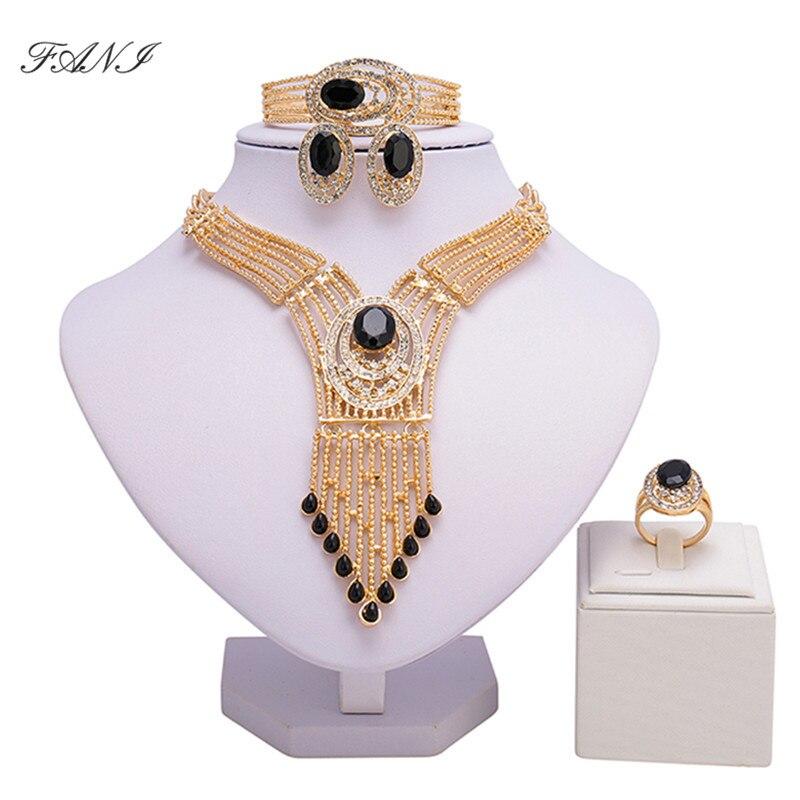 2018 India Jewelry Dubai Gold Jewelry Women Fashion: Aliexpress.com : Buy Fani Exquisite Dubai Gold Colorful