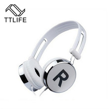 TTLIFE Original Deep Bass Game Headphone Earphone Stereo Music Gaming Headset Earphone With Microphone For Computer PC Gamer PS4