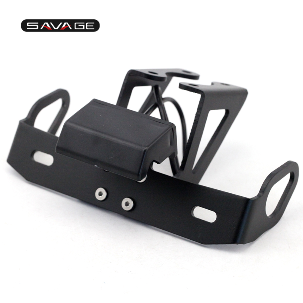 цена на License Plate Holder FOR YAMAHA YZF R6 2006-2018 Motorcycle Accessories Tail Tidy Fender Eliminator Bracket CNC Number