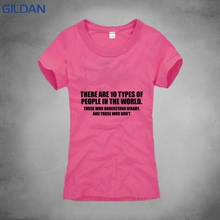3144ab9f352d Cool Shirts Short There Are 10 Types Of People In This World Binary Fun  Triblend O