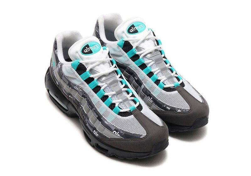24687fd37f93e Original de los hombres Nike zapatos Nike Air Max 95 nos encanta Nike atmos zapatos  deportivos nike zapatos de bádminton Max 95 zapatillas de deporte talla ...