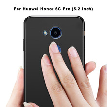 Soft TPU cover For Huawei Honor 6C Pro Case 360 full body Protection Silicone Matte Phone Cases For Honor V9 Play 5.2inch