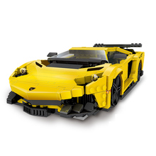 Legoings 834pcs Creative Moc Technic Series The Yellow Flash Racing Car Set Educational Building Blocks Bricks Toy lepin 20055 1180pcs technic mechanical series the rescue vehicle set 42068 children educational building blocks bricks toy gift