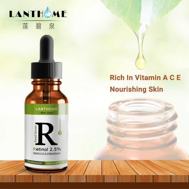 Retinol 2.5% crema hidratante para la cara vitamina E colágeno Retin arrugas antienvejecimiento acné ácido hialurónico crema blanqueadora de té verde