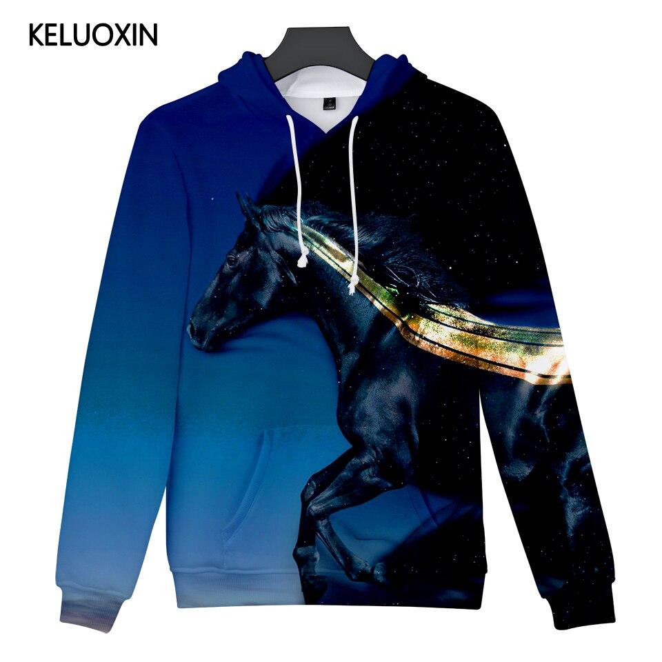 3d08b3dc3a US $13.74 44% OFF|KELUOXIN Anime Black Horse 3D Hoodies Women Men Fashion  Casual Pullover Long Sleeve Sweatshirts 3D Hip Hop Fleece Tracksuit-in ...