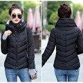 Женщины Зимнее Пальто Плюс Размер Корейский Стиль Зима Зимняя Куртка Женщин Парки Различных Цветов Тонкий Хороший Качество