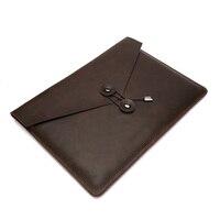 Leather Document Bag Genuine Leather Business Men Leather File Bag Joy Corner