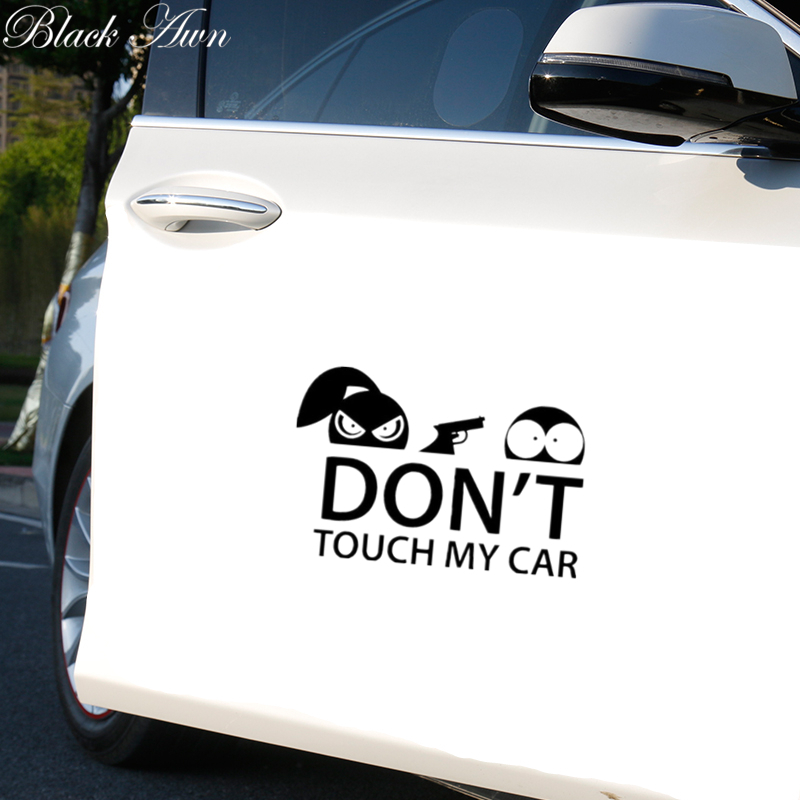 Funny DON/'T TOUCH MY CAR Vinyl Decal Car Tail Fender Bumper Window Stickers