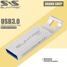 Suntrsi USB Flash Drive USB 3.0 Metal Pen Drive USB Flash High Speed Waterproof Pen Drive USB Stick Customized Flash Drive