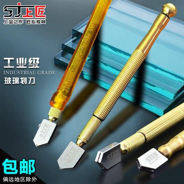 Zimmermann Werkzeuge Auf Die Glasschneider Fliesenschneider Messer