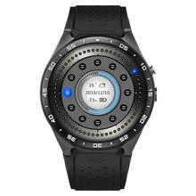 2016 beste 3G Wifi Smart Uhr Android 5.1 Smartwatch Mit MTK6580 512 MB/4 GB Uhr 400*400 nano SIM WCDMA Herzfrequenz 2.0MP GPS