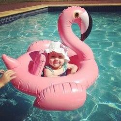 الطفل فلامنغو سرير قابل للنفخ لحمامات السباحة-نفخ الطفل الرضع فلامنغو عوامة للسباحة بركة تعويم-شعبية الطفل الرضع السباحة لعبة-