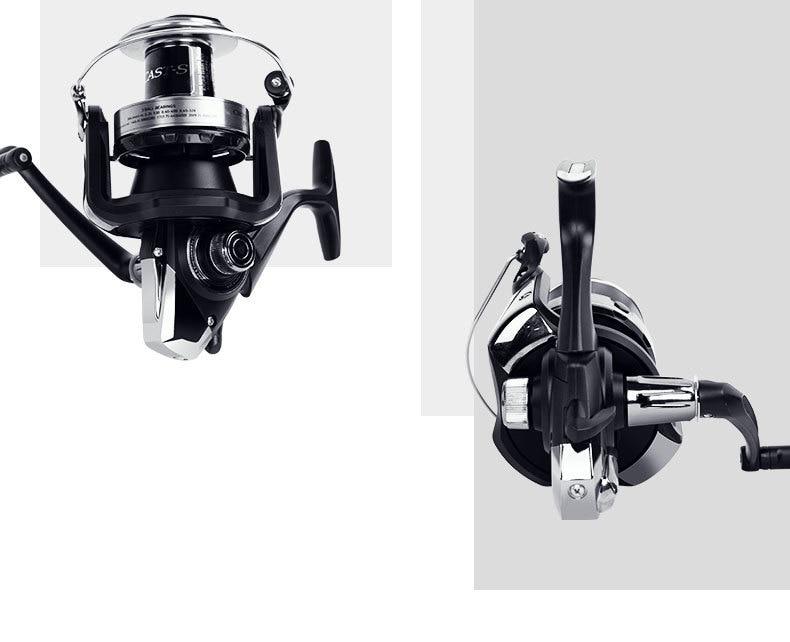 Original DAIWA CROSSCAST-S 5000/5500 Spinning Fishing Reel 3BB 4 9:1 RATIO  15KG MAX DRAG 635g Distant Wheel Lure Sea fishing