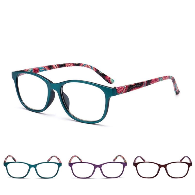 5a727290c45 Flower Reading Glasses Presbyopia Eyeglasses 1.0 1.5 2.0 2.5 3.0 3.5 ...