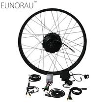 """Electric Bike Kit 48V 500W  Shengyi DGW25 cassette Fat Tire Electric Bicycle Wheel Rear Ebike Conversion Kits 20"""",26"""""""