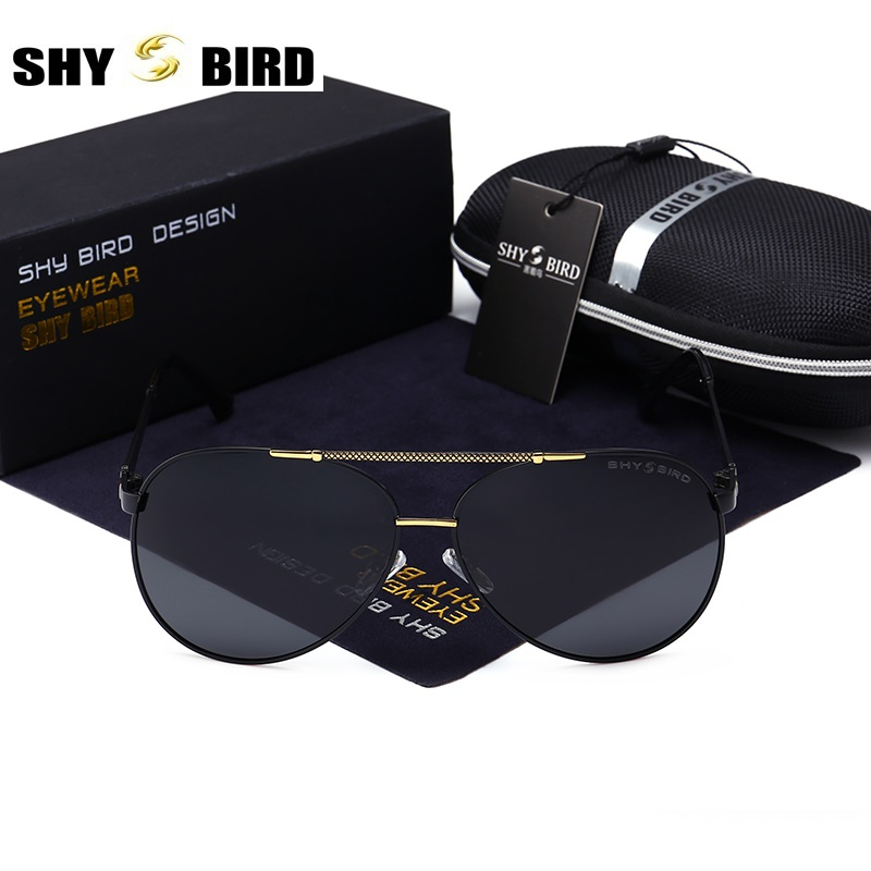 New listing SHYBIRD pilot brand retro men sunglasses mens / womens sunglasses fashion glasses 8083