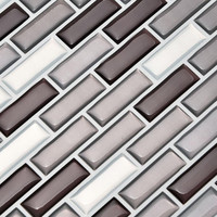 5Pcs PET 3D DIY Embossed Brick Stone Tiles Anti Mold Peel And Wall Sticker Decor