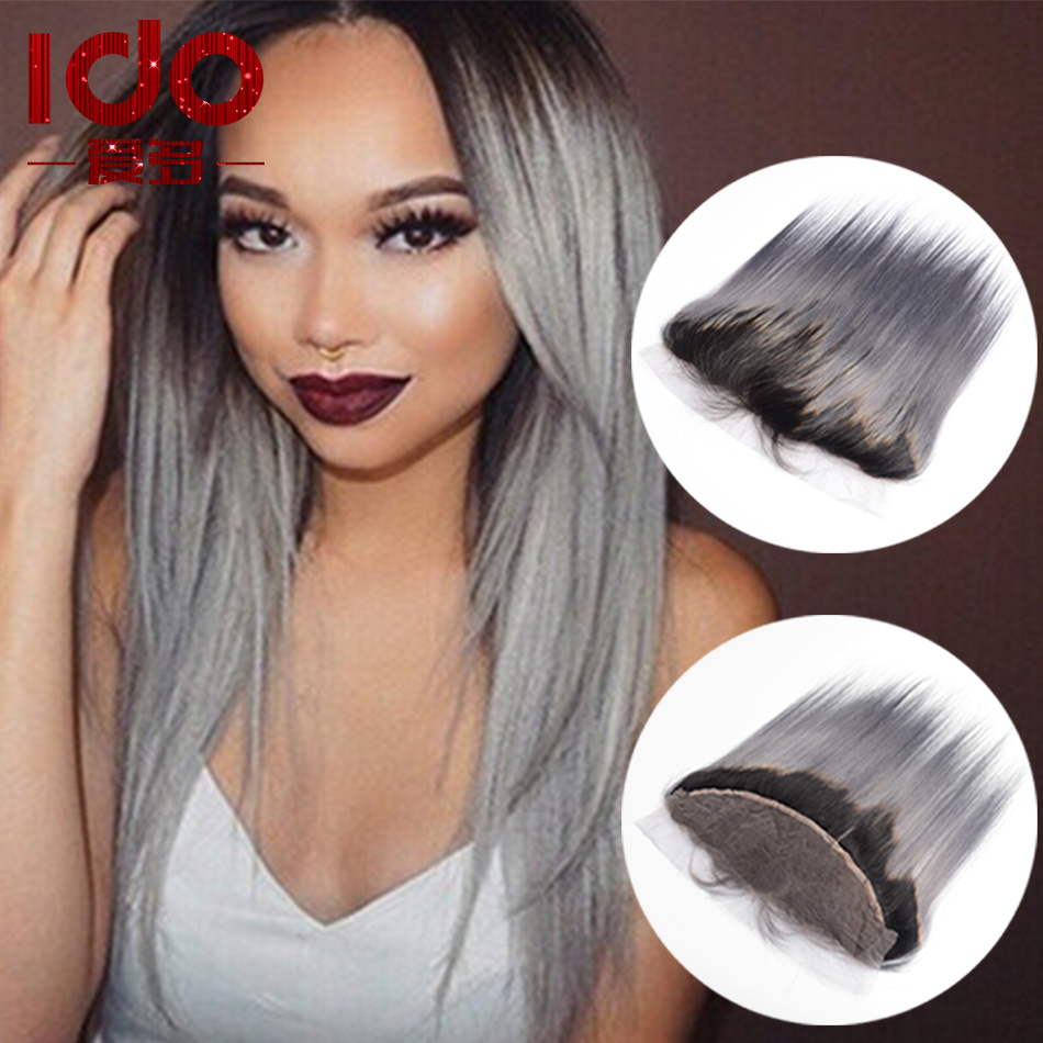 7A Peruvian font b Straight b font Lace Frontal Closure With Baby font b Hair b