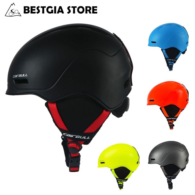 Cairbull 2019 New Ski Helmet Integrally molded Skiing Helmet For Men Women Snow Helmet Safety Skateboard