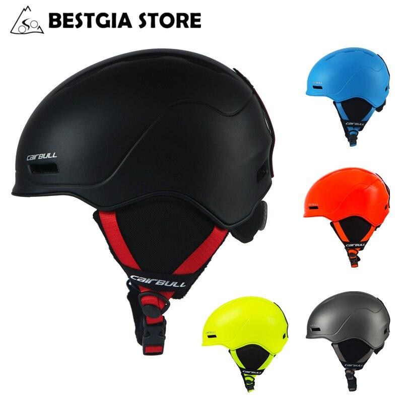 Cairbull 2019 nouveau casque de Ski entièrement moulé casque de Ski pour hommes femmes casque de neige sécurité Skateboard Ski Snowboard casques
