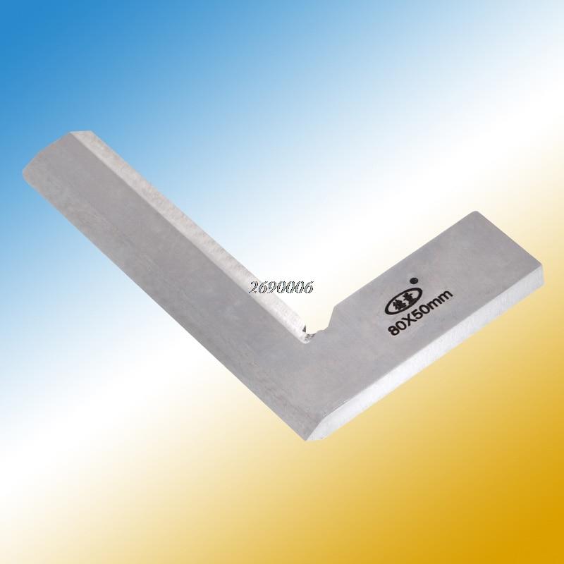 все цены на (OOTDTY)80*50mm Angle Square Broadside Knife-Shaped 90 Degree Angle Blade Ruler Gauge Blade Measuring Tool MAY08_35 онлайн