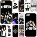 All Time Low Hard Case Transparent for iPhone 7 7 Plus 6 6s Plus 5 5S SE 5C 4 4S