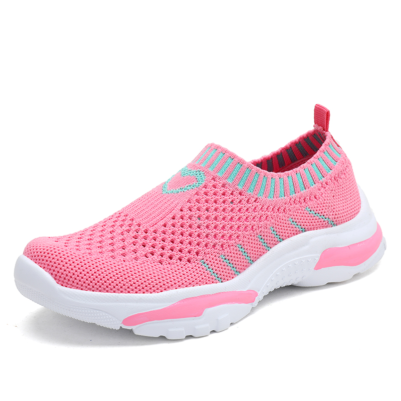 2019 New Style Flyknit Girls Sneakers Childrens Sport Shoes Kids Walking Shoes Breathable Slip On Sock Shoes for Little Big Kid2019 New Style Flyknit Girls Sneakers Childrens Sport Shoes Kids Walking Shoes Breathable Slip On Sock Shoes for Little Big Kid