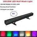 Светодиодный вечерние светильники 18X18 Вт RGBWA + УФ светодиодный Освещение сцены DMX контроллер лазерный проектор для дискотека светодиодный н...