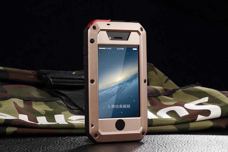 HTB1YKf2e25TBuNjSspcq6znGFXah Heavy Duty Protection Doom armor Metal Aluminum phone Case for iPhone 11 Pro Max XR XS MAX 6 6S 7 8 Plus X 5S 5 Shockproof Cover