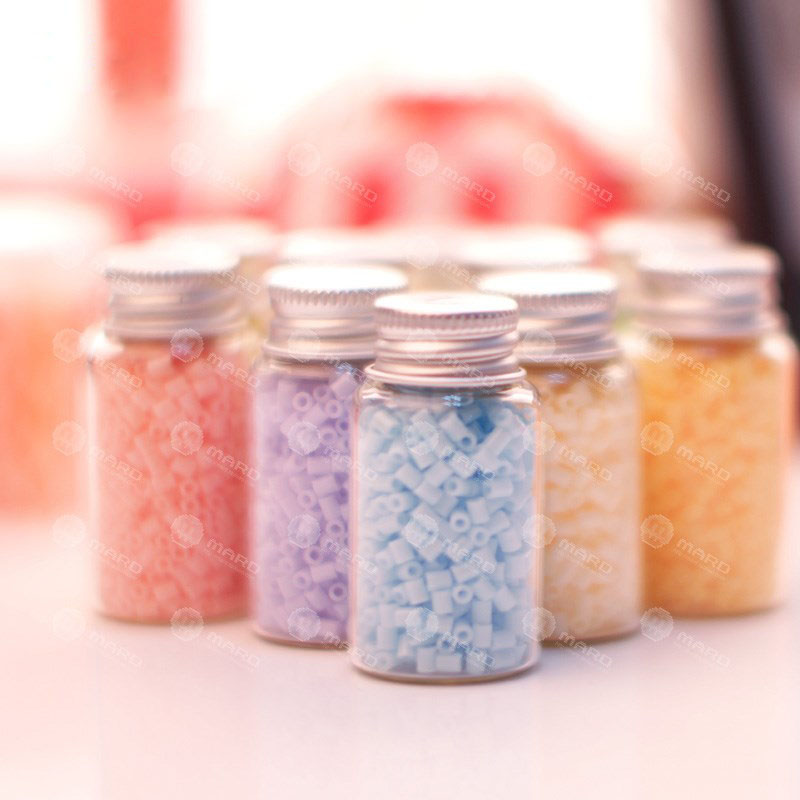 600pcs/bottle 2.6MM Mini Hama Beads PUPUKOU Beads Variety Of Colors Foodgrade Perler Fuse Beads Kids Education Diy Toys
