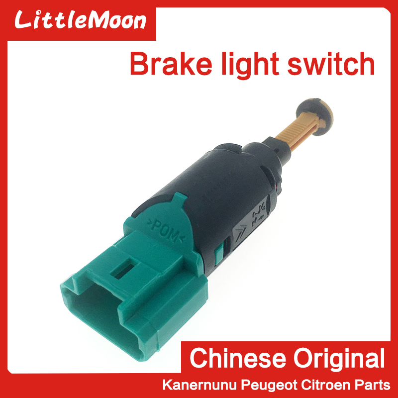 LittleMoon Brake Light Stop Lamp Switch For Peugeot 207 206 307 308 407 Citroen C2 C4 C5 C-quatre 9650688480