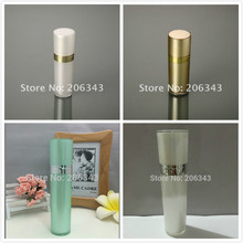50ML pearl white/gold/green cone-shape acrylic bottle for serum/lotion/emulsion/foundation cosmetic packing plastic bottle