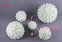artificial hanging rose flower ball for wedding decoration,42 cm diameter,free shipping by ems