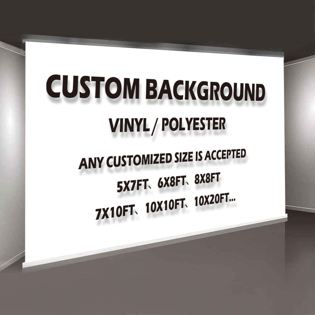 MEHOFOTO Photography Backdrops Props Photo Studio Background Custom Any Size