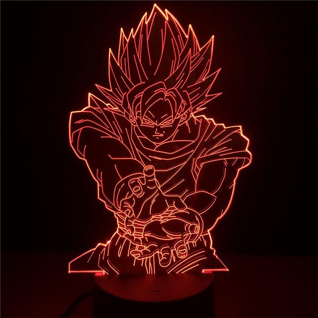 3D GOKU LED LAMP