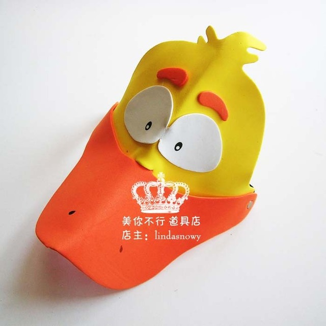 Kindergarten toy animal style hair accessory animal hat child small ducks hat hair accessory