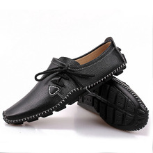 Men Loafers Shoes Nice Casual Genuine Leather Slip On Fashion Men Flats Moccasins Shoes Men Size